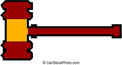 Gavel symbol