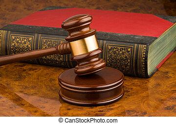 Wooden gavel - symbol for jurisdiction