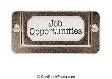 gaveta, oportunidades trabalho, arquivo, etiqueta
