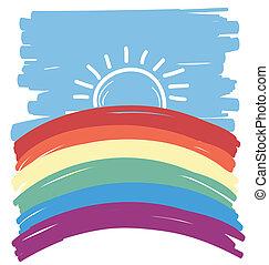 gay abstract backgorund .Vector illustration