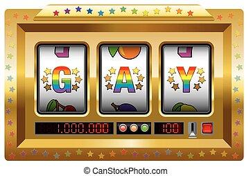 gay, automat