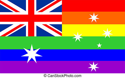 gay flag australia