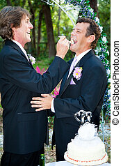 Gay Marriage - Eating Cake