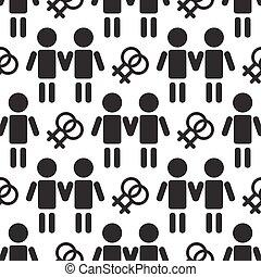 gay seamless pattern