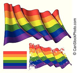 Gay Waving Flag