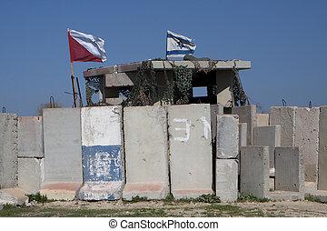 gaza, gräns