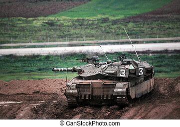 gaza,  idf, tira, listo,  incursion, suelo