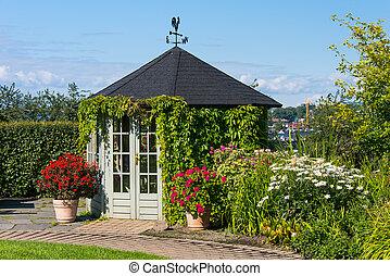gazebo, 植物園