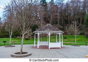 Gazebo At Park