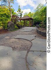 Gazebo at Tsuru Island Japanese Garden