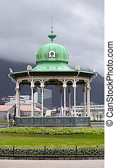 Gazebo in the center of Bergen