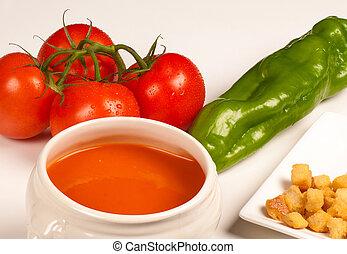 gazpacho, składniki