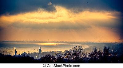 gdansk, baía