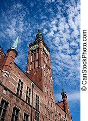 gdansk, corredor cidade