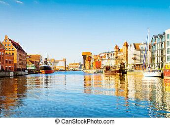 gdansk, marina, polônia