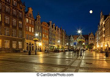 gdansk, nuit