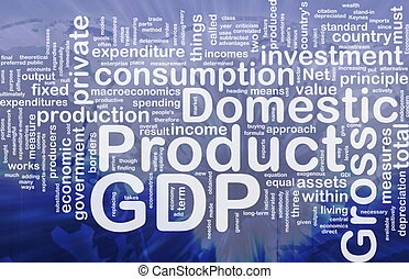 GDP is bone background concept - Background concept...