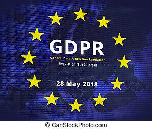 gdpr, -, général, protection données, règlement