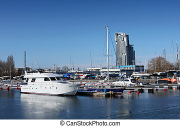 Gdynia harbour