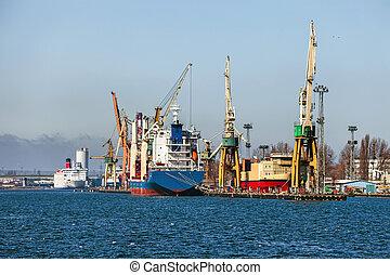 gdynia, porto