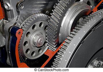 gear-box - Gearbox cut-through view