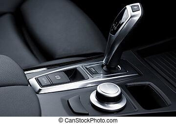 gear-change lever - The gear-change lever in the modern car