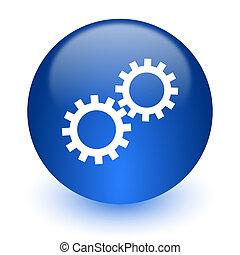 web icon on white background