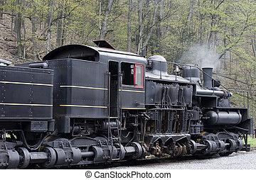 gear driven steam engine