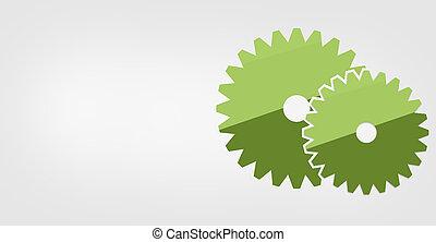 gear flat icon design