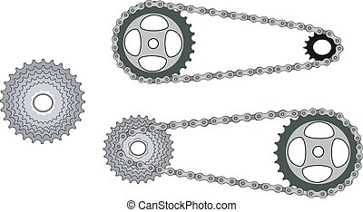 gear for bicycle chain