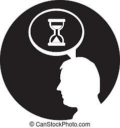Gear head icon