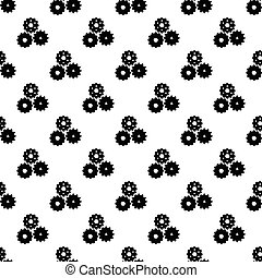 Gear pattern seamless