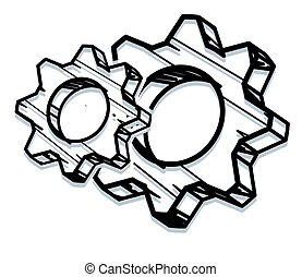 Gear Process Icon