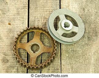 gear, pulley