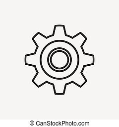 gear setting icon