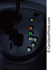 Gear shift is equipment in the vehicle
