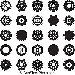 Gear vector set 1