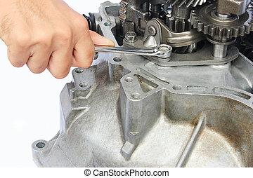 gearbox, reparera