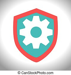 Gear,cog, wheel graphic icon