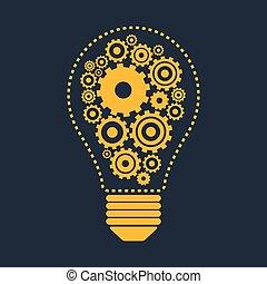 gears., ampoule