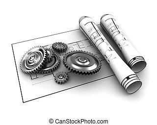 gears blueprints