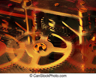 Gears - Clock gears