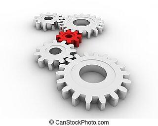 Gears concept  - Gears concept