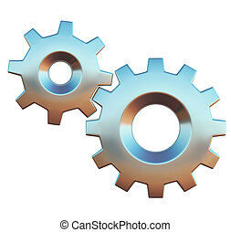 gears icon - options properties sign
