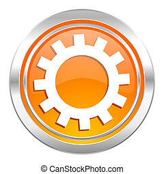 gears icon, options sign