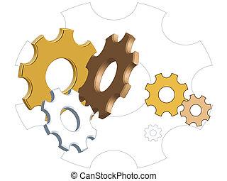 Gears - illustration