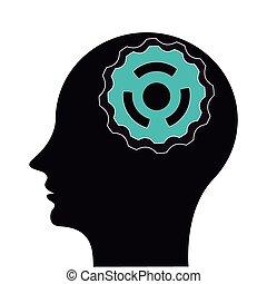 gears in head icon