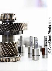 Gears of bearings and solenoids in the repair