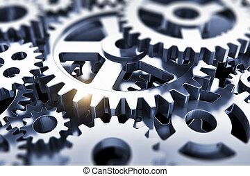 Gears or cogwheels