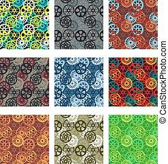 Gears pattern pack